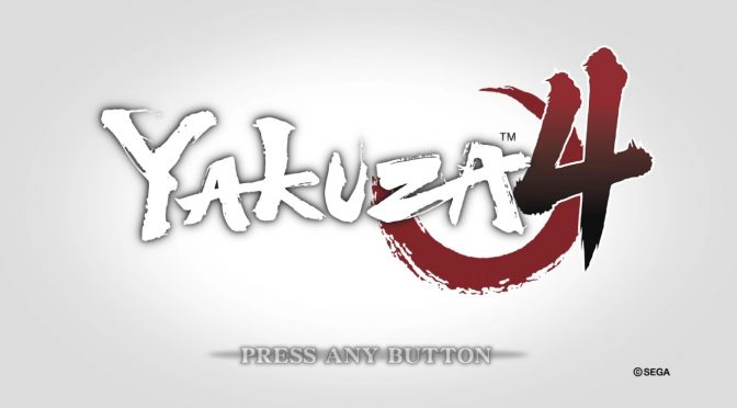 Xbox Game Passで遊ぶ Yakuza 4 Remastered