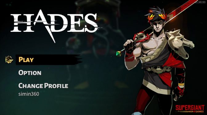 Xbox Game Pass で遊ぶ ハデス 【Hades】 登場人物だいたい神の神ゲー